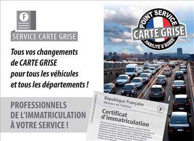 Exemple Carte grise n°145 zone Maine-et-Loire par Cartaplac