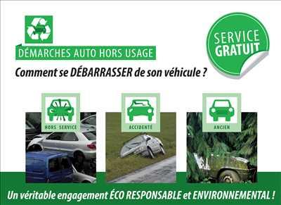 Exemple Carte grise n°205 zone Vendée par Cartaplac