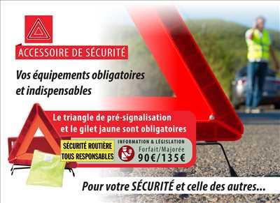 Exemple Carte grise n°245 zone Allier par Cartaplac Montluçon