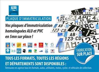 Exemple Carte grise n°253 zone Allier par Cartaplac Vichy