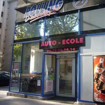 Exemple Auto école n°385 zone Rhône par cedric