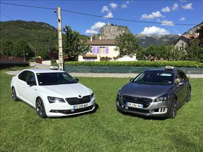 Exemple Taxi n°413 zone Alpes-de-Haute-Provence par Arnaud